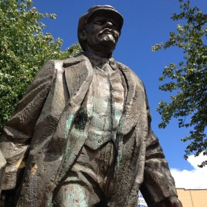 Lenin statue, Seattle - June 11, 2013