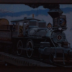 Mural in Weed, California - June 16, 2013