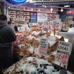 Pike Place Market, Seattle - June 13, 2013
